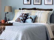5 idei pentru decorarea peretilor din dormitor