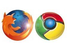 Mozilla Firefox, lasat in urma de Google Chrome