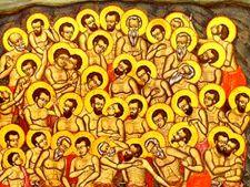 9 martie, ziua Sfintilor Mucenici
