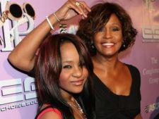 Fiica lui Whitney Houston vrea sa renunte la numele tatalui sau