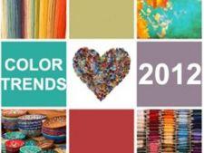 Tendinte in 2012 pentru culori in designul interior