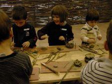 Ateliere de creativitate la Muzeul Taranului Roman