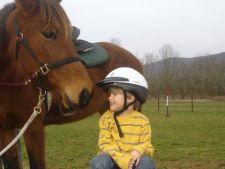 10 copii cu probleme mentale din Cluj vor beneficia de terapia cu animale