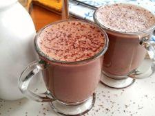 Ciocolata calda cu nutella si lichior