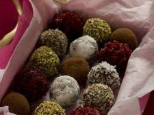 Trufe de ciocolata si fructe uscate