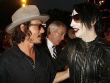 Johnny Depp si Marilyn Mason, cover dupa piesa