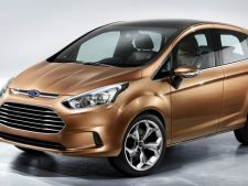 Ford B-Max poate fi comandat si in Romania. Afla cat costa!