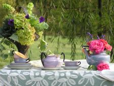 Ceainarii relaxante pentru zile de primavara insorite