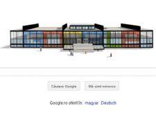 126 de ani de la nasterea lui Mies van der Rohe, aniversare Google
