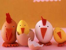 Decoratiuni de Paste realizate manual, impreuna cu copiii