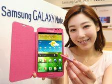 Samsung lanseaza un Galaxy Note roz