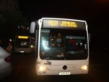 Suplimentari de autobuze RATB in noaptea de Inviere