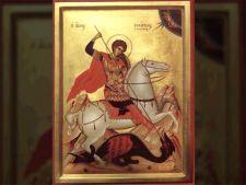 Romanii il sarbatoresc azi pe Sfantul Gheorghe