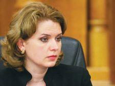 Revocarea Robertei Anastase, respinsa de Comisia juridica a Camerei Deputatilor