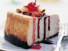 Cheesecake banana split