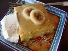 Prajitura cu banane la microunde