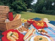 Romanii isi petrec timpul liber la picnic