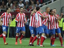Finala Europa League a fost castigata de echipa Atletico Madrid