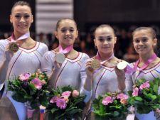 Prime duble pentru echipa de gimnastica a Romaniei