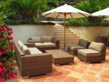 Tipuri de mobilier pentru terasa si gradina