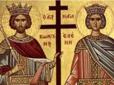 Romanii sarbatoresc azi Sfintii Imparati Constantin si Elena