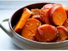 Cartofi dulci glazurati