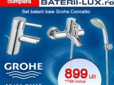 ADVERTORIAL Transforma-ti baia cu baterii sanitare Grohe, eleganta si pret promotional