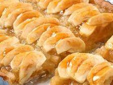 Batoane cu mere glazurate