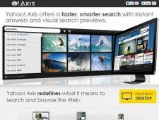 Probleme de securitate pentru Yahoo! Axis