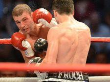 Lucian Bute, invins prin knockout de Carl Froch. Bute a pierdut titlul de campion IBF