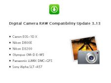 Apple ofera compatibilitate cu imagini RAW pentru mai multe aparate foto