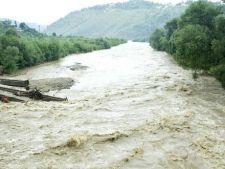 Cod galben de inundatii in jumatatea de est a Romaniei
