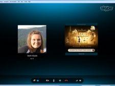 Skype introduce reclame pe ecran in timpul conversatiilor