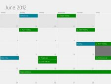 Cum arata calendarul in Windows 8