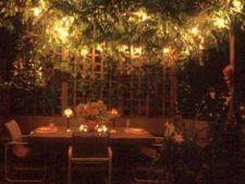 Cum sa ai o gradina romantica noaptea