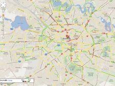 Google Trafic, disponibil in Romania: deocamdata in Bucuresti si pe E81