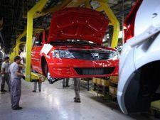 Dacia opreste din nou productia la uzina de la Mioveni