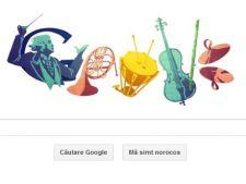 100 ani de la nasterea lui Sergiu Celibidache, aniversare Google