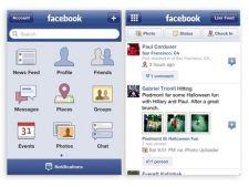 Facebook lucreaza la o noua aplicatie pentru iPhone
