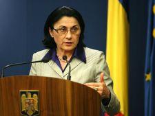 Ecaterina Andronescu vrea sa modifice Legea educatiei