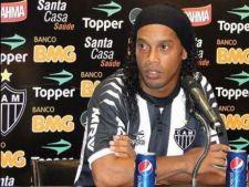 Ronaldinho a pierdut contractul cu firma de bauturi racoritoare Coca Cola