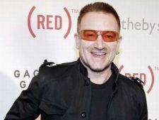 Bono a inregistrat un cover dupa o piesa a cantaretei Lady Gaga