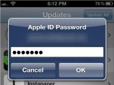 Apple iOS 6 nu mai cere utilizatorilor parola constant in App Store
