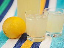 Limonada cu vanilie si sirop