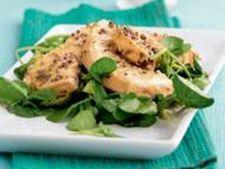 Salata de somon cu mustar si avocado