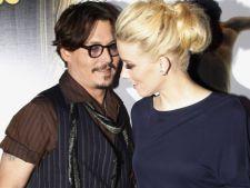 Johnny Depp a fost parasit de iubita