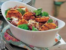 Salata cu cartofi dulci si feta