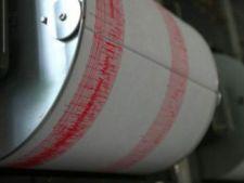 Patru cutremure s-au produs duminica in zona Vrancea