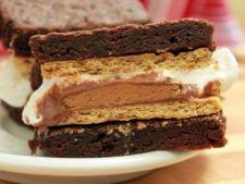 Prajitura rapida cu biscuiti si crema de ciocolata