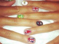 Modele de unghii purtate de sportivele de la Jocurile Olimpice